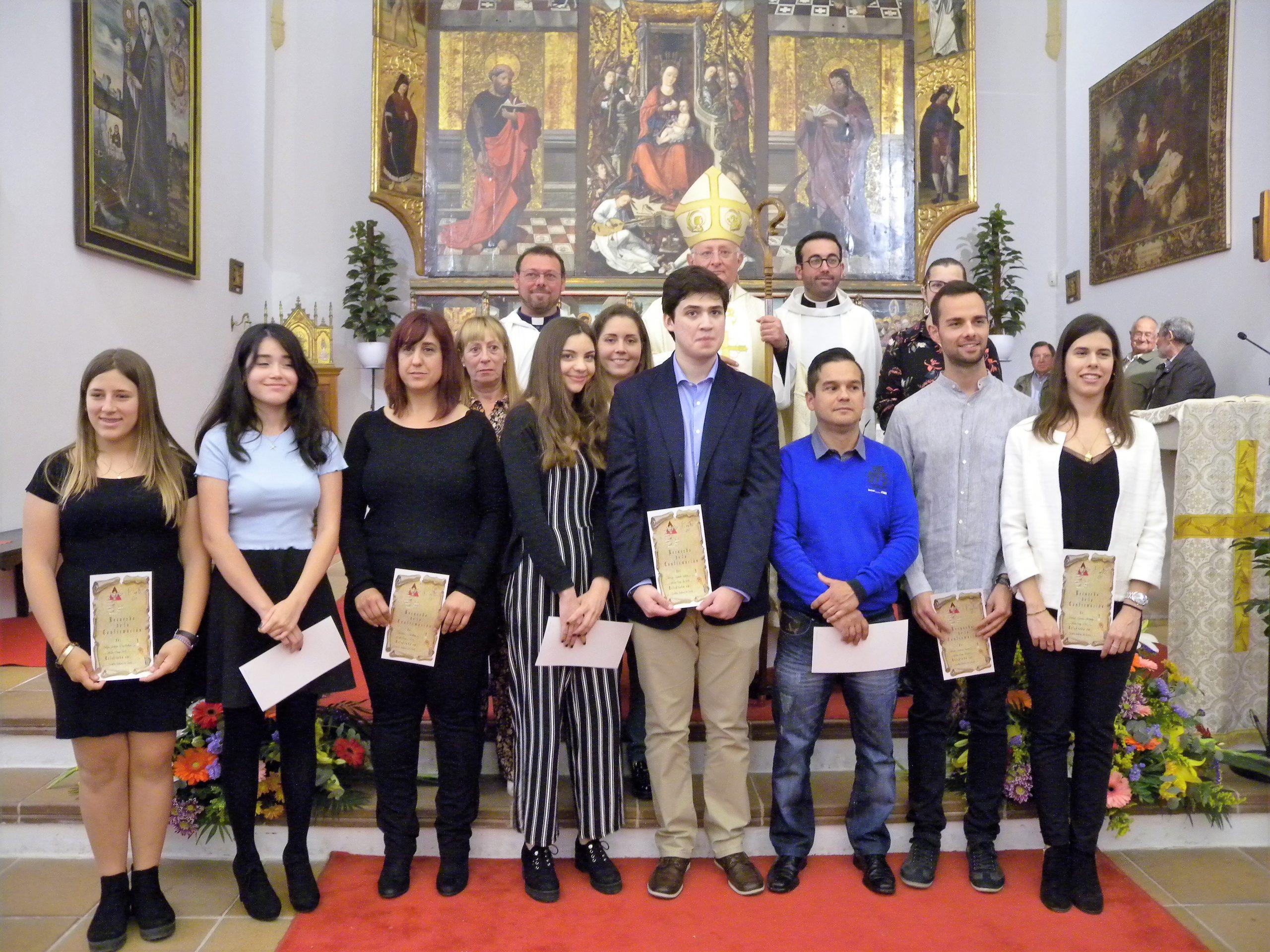 CONFIRMACIONES EN LA PARROQUIA DE NUESTRA SEÑORA DE JESÚS