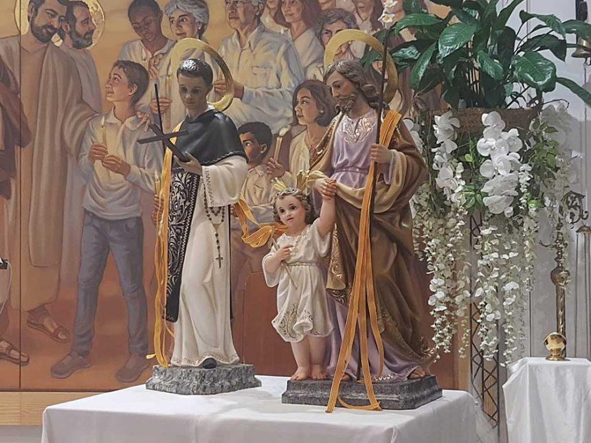 SAN JOSÉ Y SAN MARTÍN DE PORRES EN LA PARROQUIA DE NTRA. SRA. MADRE DE LA IGLESIA