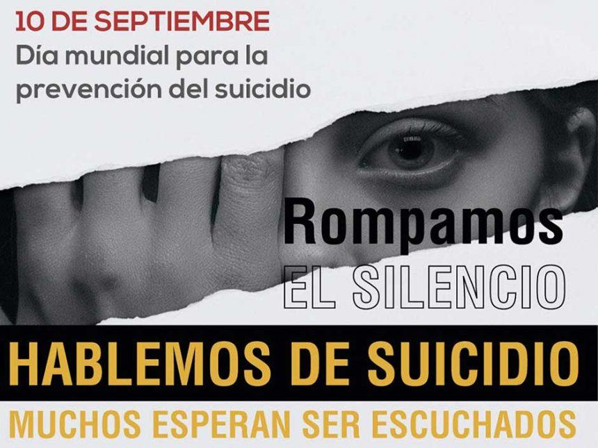 10 DE SEPTIEMBRE: DÍA MUNDIAL PARA LA PREVENCIÓN DEL SUICIDIO